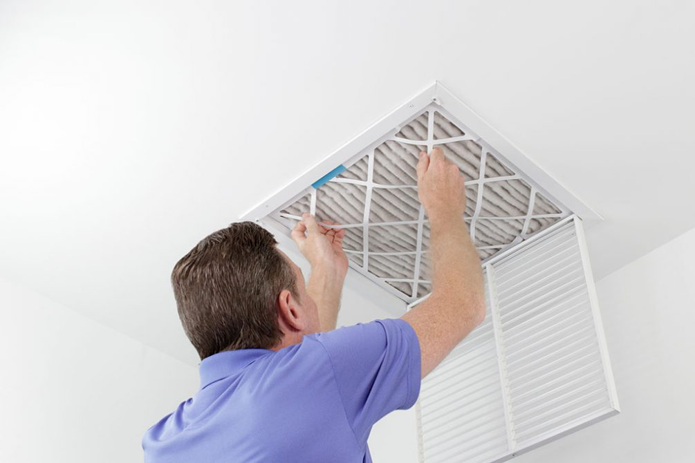 Change your HVAC filters regularly.
